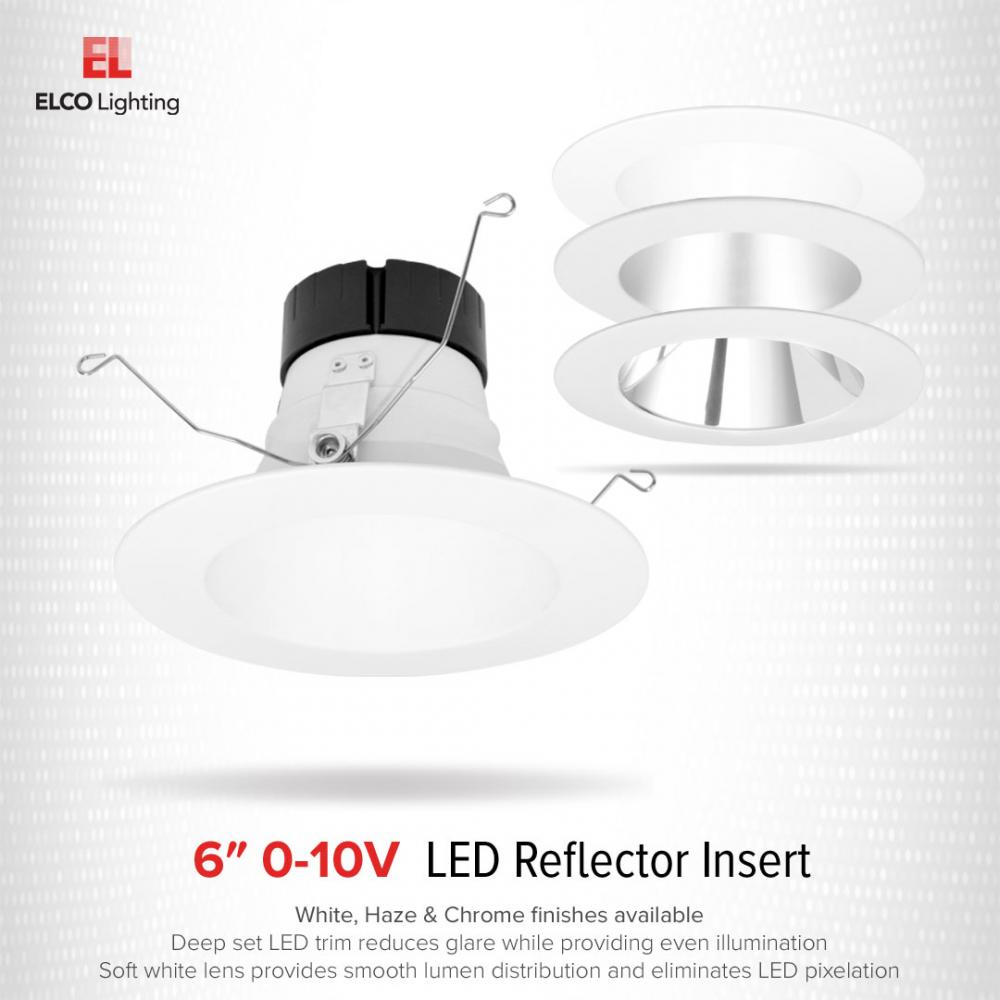 6″ 0-10V LED Inserts