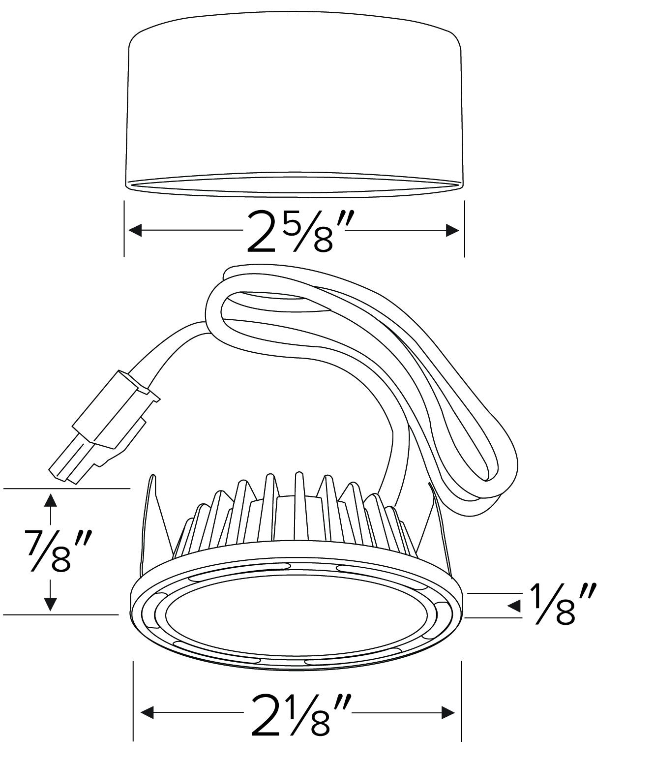 xyris u2122 mini led puck light kit