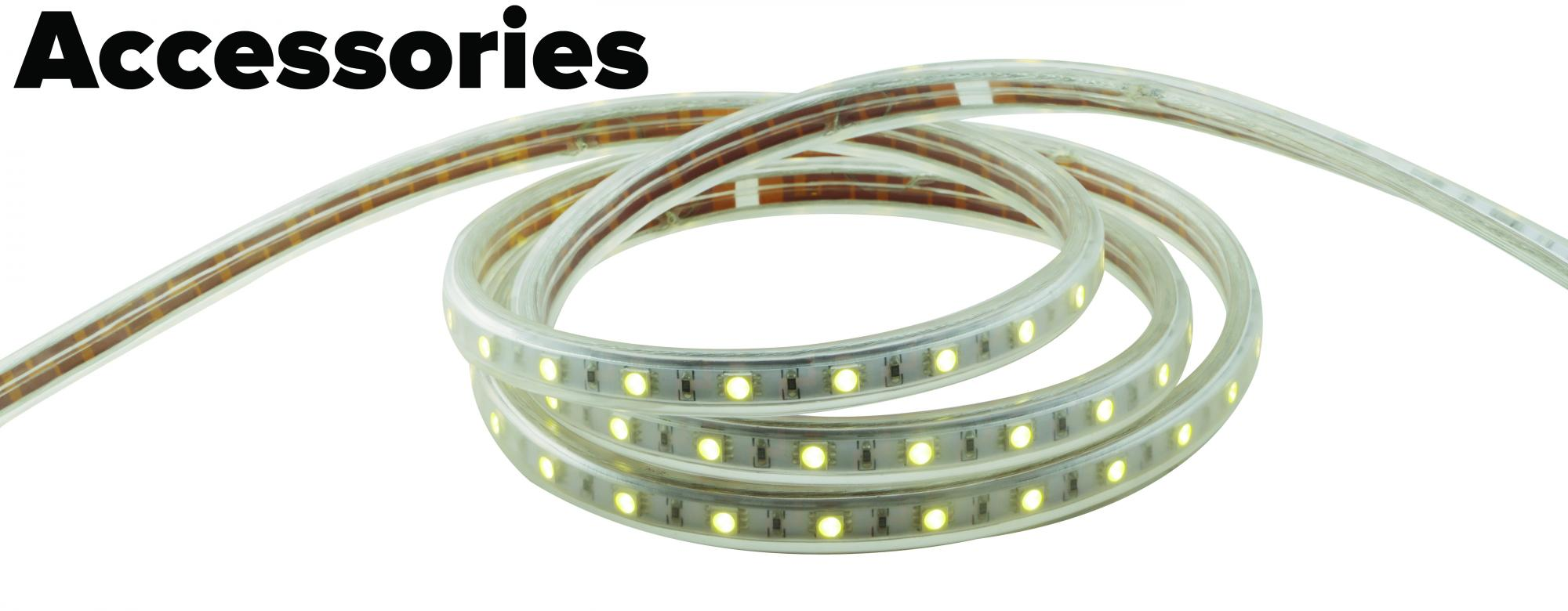 Led flat rope light accessories elco lighting led flat rope light accessories aloadofball Image collections
