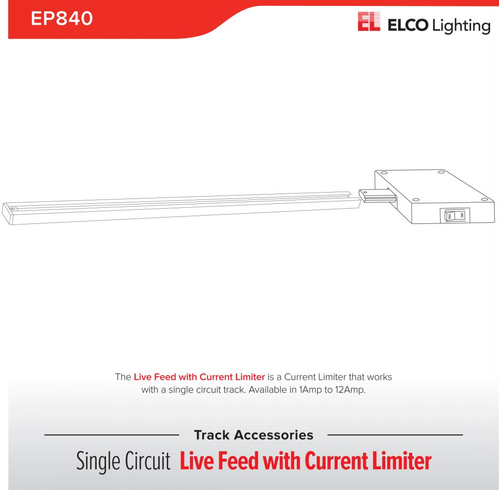Current Limiter Track Accessory Elco Lighting