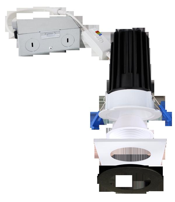 Reflector, Baffle & Flexa™ Trims for 2″ LED Elm™ Downlights