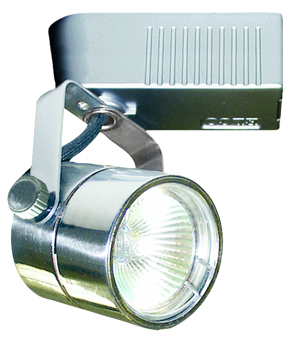electronic low voltage cylinder track fixture elco lighting