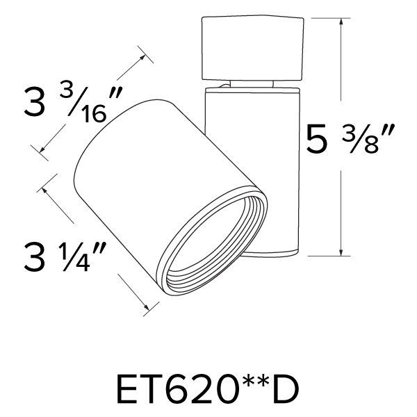 LED Gordian™ Track Fixture