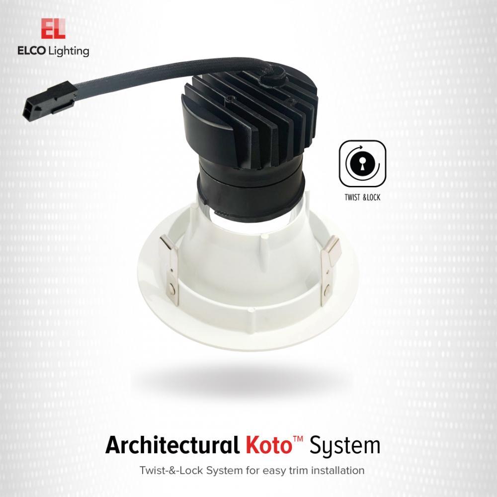3″ Koto™ Architectural Shallow Maximum Adjustability IC Airtight Housing