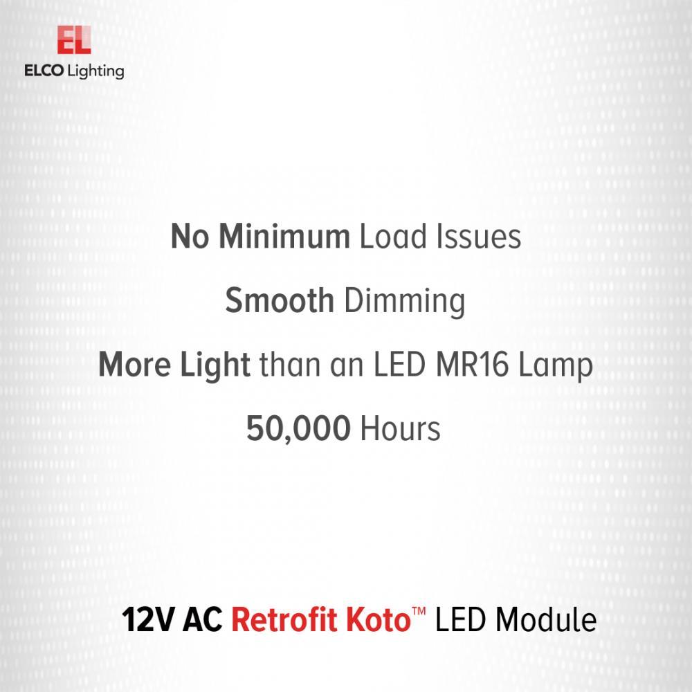 12V AC Retrofit Koto™ LED Module