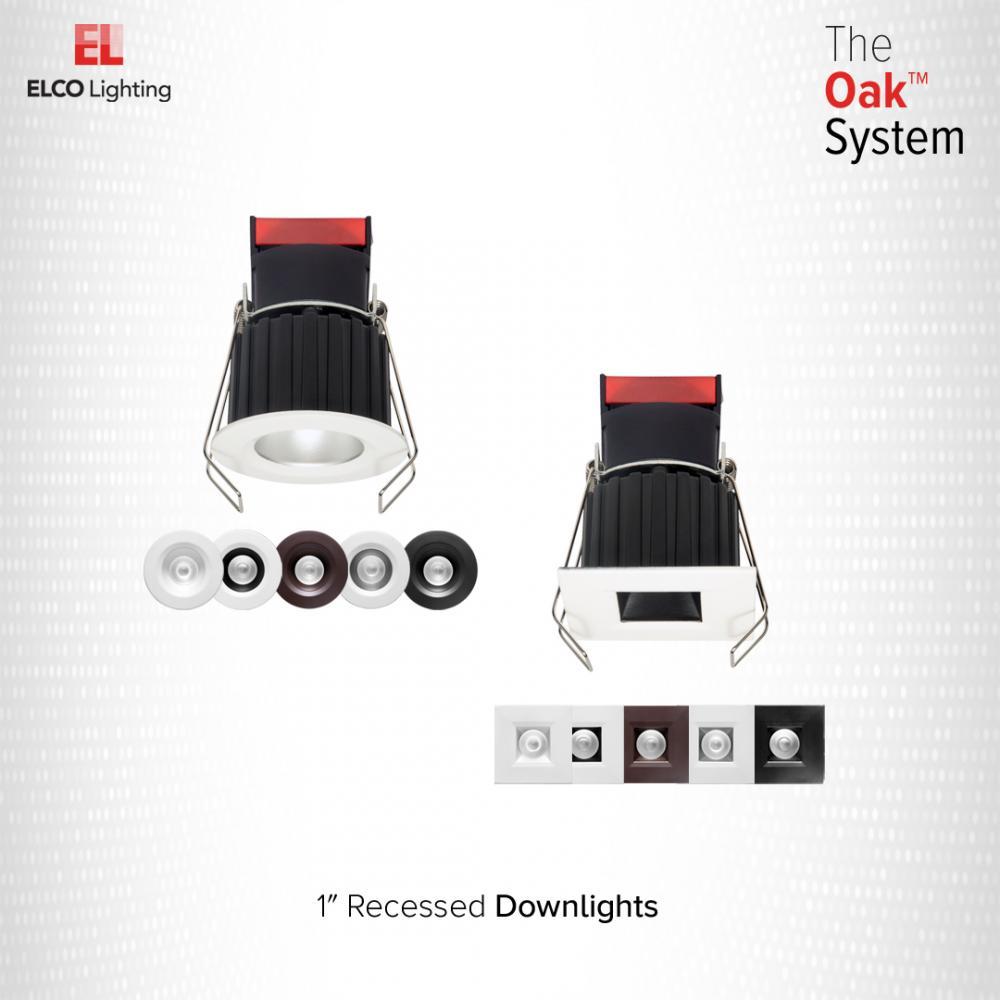1″ Square Recessed Oak™ Downlight