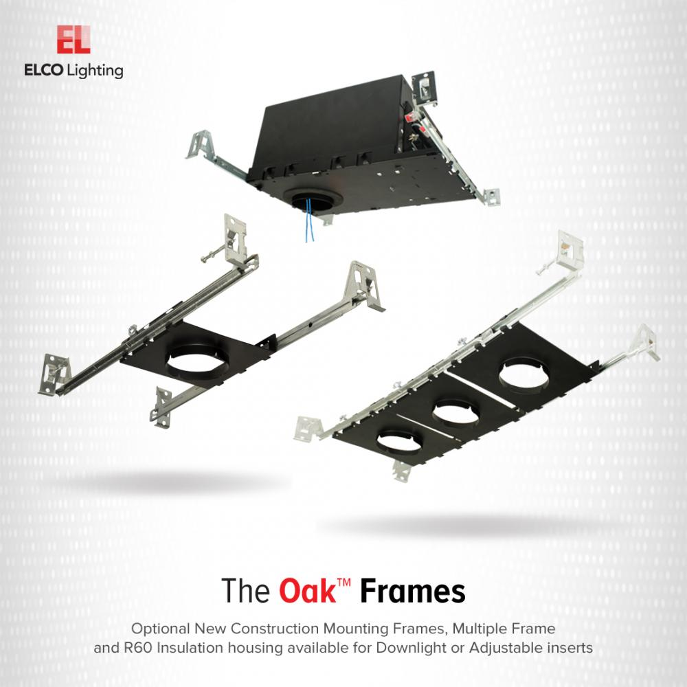 New Construction Multiple Frame for Oak™ Recessed