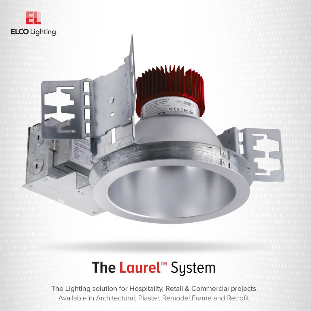 "6"" LED Light Engine with Drop Glass Trim (4000-6000 lm)"
