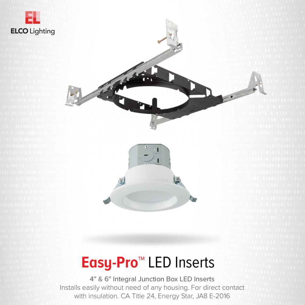 6″ Easy-Pro Integral Junction Box LED Inserts