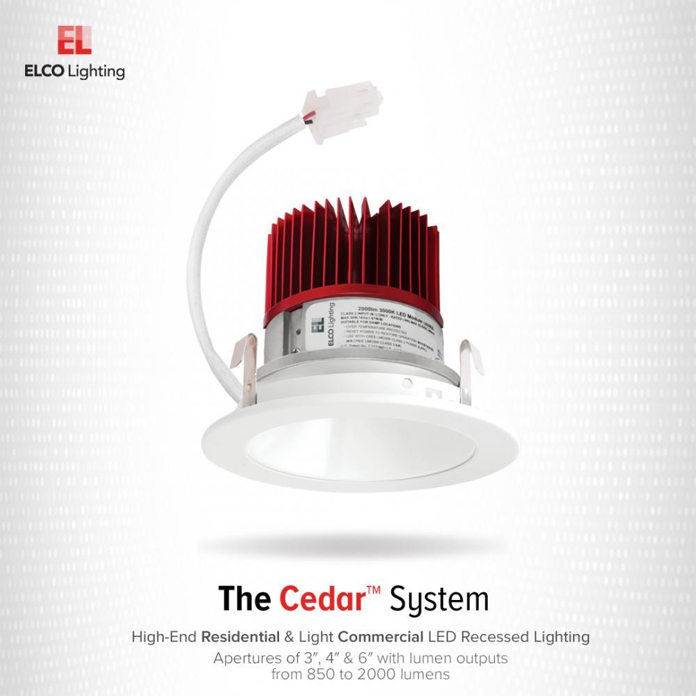 "4"" LED Light Engine with Reflector Trim"