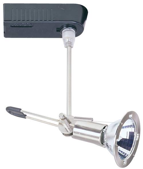 electronic low voltage high tech swivel track fixture elco lighting