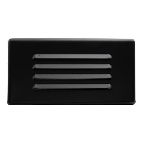 Cfl Step Light With Louvered Faceplate Elco Lighting
