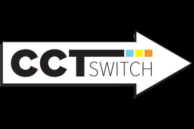"8"" 120/277/347V Ultra Slim LED Round Panel Light with 5-CCT Switch"