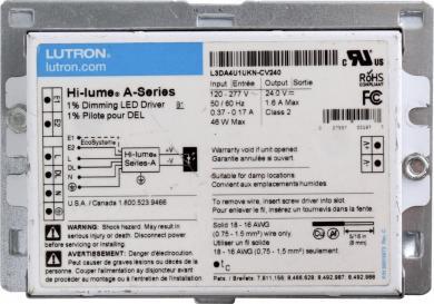 Lutron™ Hi-Lume Premiere 0.1% Dimming LED Driver