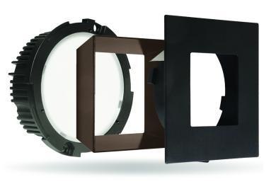 """E.L.L. Module with 4"""" Square Baffle FLEXA™ Trim"""
