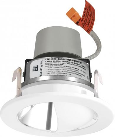 """4"""" LED Module & Driver with Wall Wash Reflector Trim"""