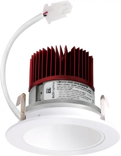 """4"""" LED Light Engine with Baffle Trim"""