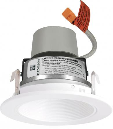 """4"""" LED Module & Driver with Baffle Trim"""