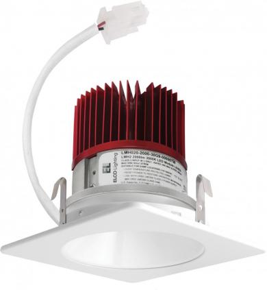 "4"" LED Light Engine with Square Reflector Trim"