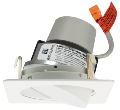 """4"""" Square LED Module & Driver with Adjustable Trim"""