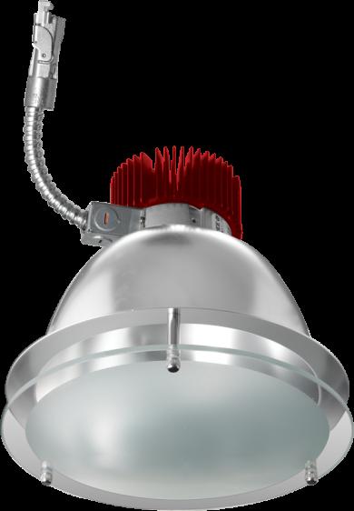 "8"" Drop Glass LED Light Engine Trims (850-3000 lm)"