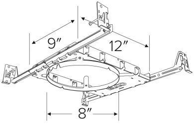 New Construction Frames With Hanger Bars Elco Lighting