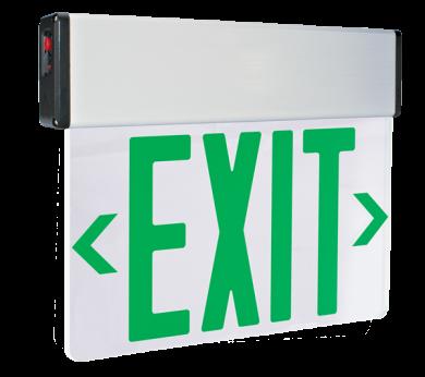 LED Edge Lit Exit Sign