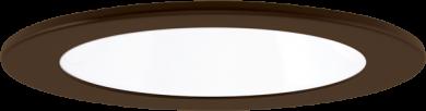 White w/Bronze Ring