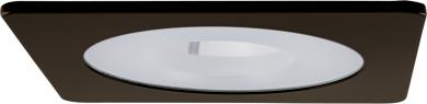 """4"""" Square Shower Trim with Frosted Pinhole Lens"""