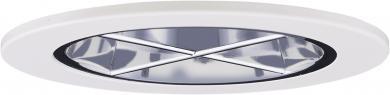 Chrome w/White Ring