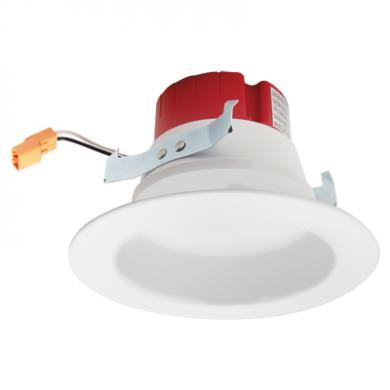 "4"" Builder Round LED Reflector Insert"