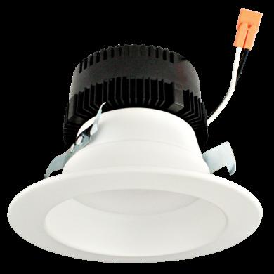 4″ Round Reflector Insert with 5-CCT Switch & 3-Lumen Switch