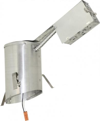 """4"""" LED IC Airtight Sloped Ceiling Remodel Housing"""