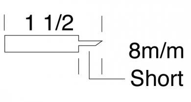 Blade B for sheet metal