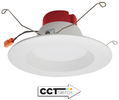 """5""""/6"""" Five-Color Temperature Switch LED Reflector Inserts"""