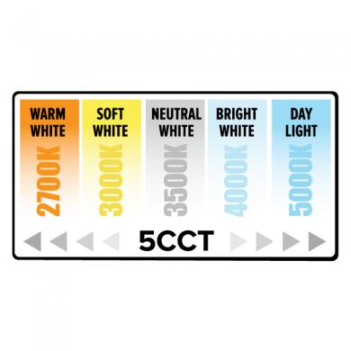 "5""/6"" 5-CCT Switch LED Reflector Insert"