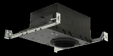 "4"" Medium Base IC Airtight New Construction R-60 Foam Insulation Housing"