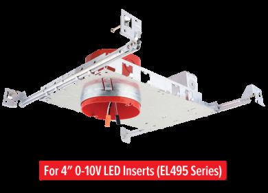 0-10V ALO™ Box on New Construction Frame