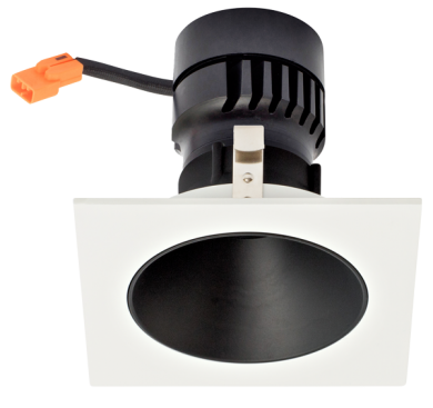 Black Reflector with White Ring
