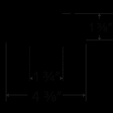 Pex™ 3″ Round Adjustable Pinhole