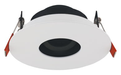 Pex™ 3″ Round Adjustable Pinhole with Mounting Clips