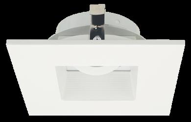 Pex™ 4″ Square Adjustable Baffle