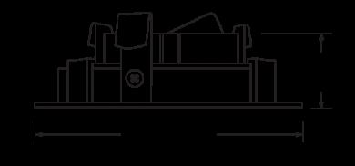Uno™ 4″ Square Baffle for Koto Module