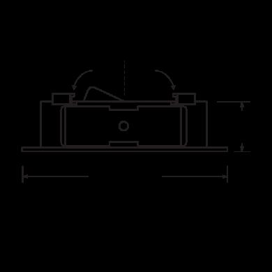 Flexa™ 4″ Round Reflector for Koto™ Module