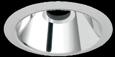 Chrome Reflector w/Nickel Ring