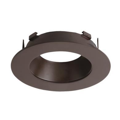 """4"""" Diecast Round Reflector Flexa™ Trim"""
