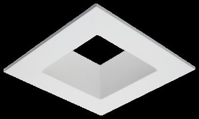 "Unique™ 4"" Diecast Deep Square Reflector Trim"
