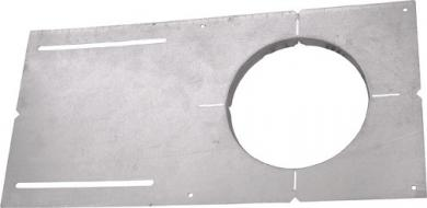 New Construction Round Mounting Plate