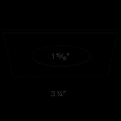 Square Trim Dimensions