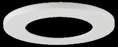 White Round Trim